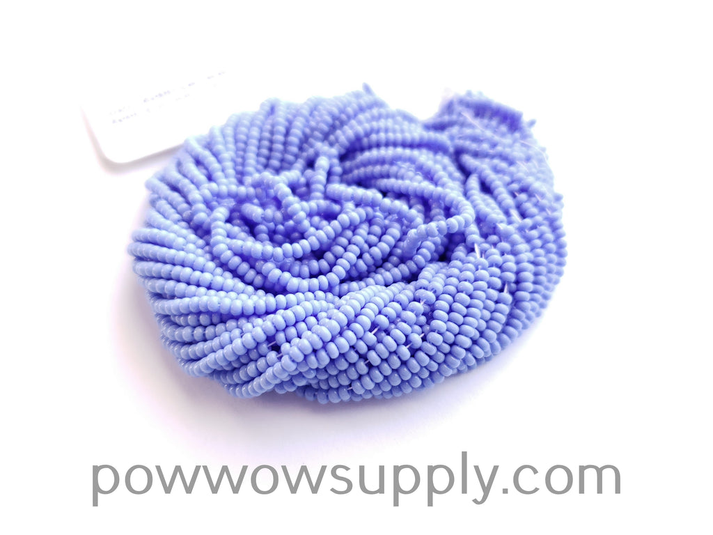 13/0 Seed Beads Opaque Dark Periwinkle