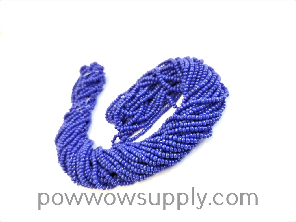 13/0 Seed Beads Opaque Dark Blue