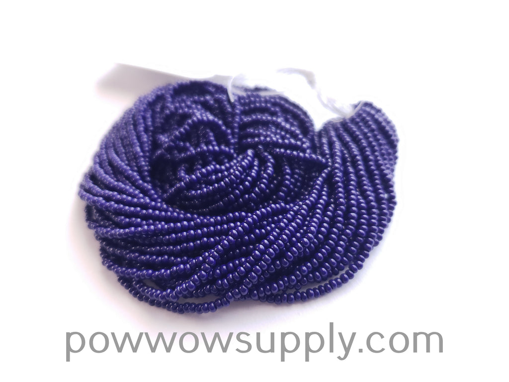12/0 Seed Beads Opaque Navy Blue
