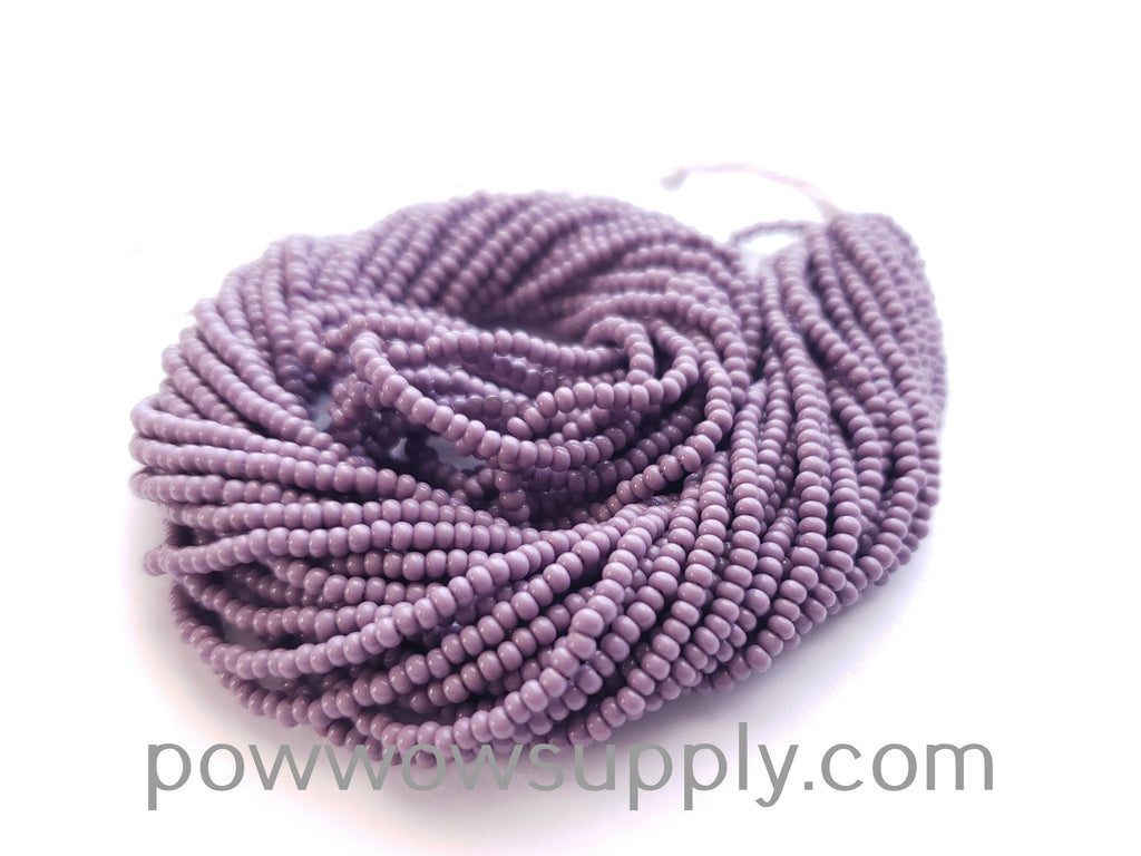 13/0 Seed Beads Opaque Light Amethyst