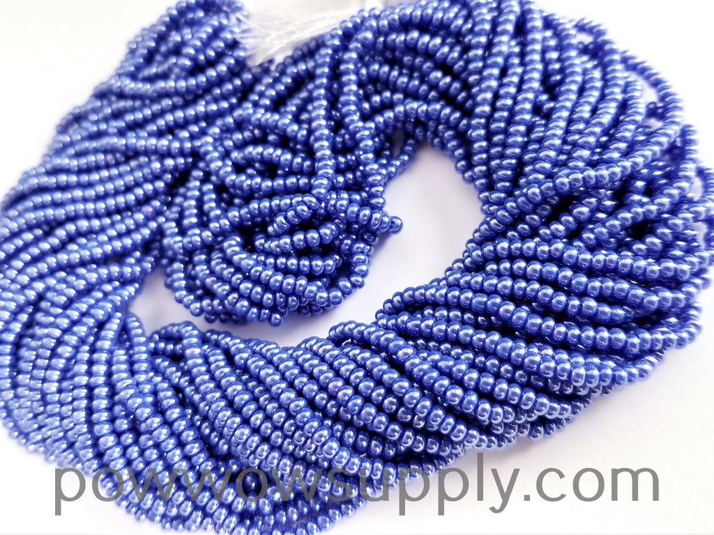 11/0 Seed Bead Opaque Luster Light Blue