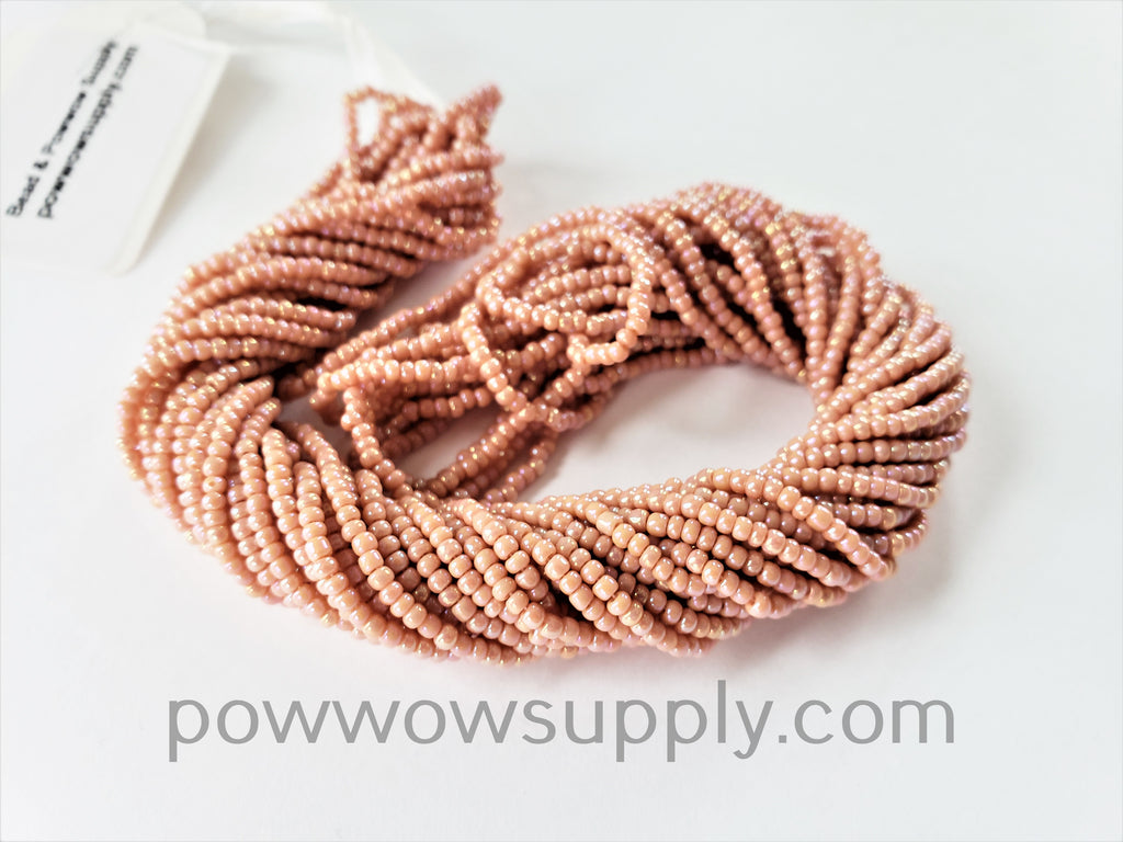 11/0 Seed Bead Opaque AB Cheyenne Pink