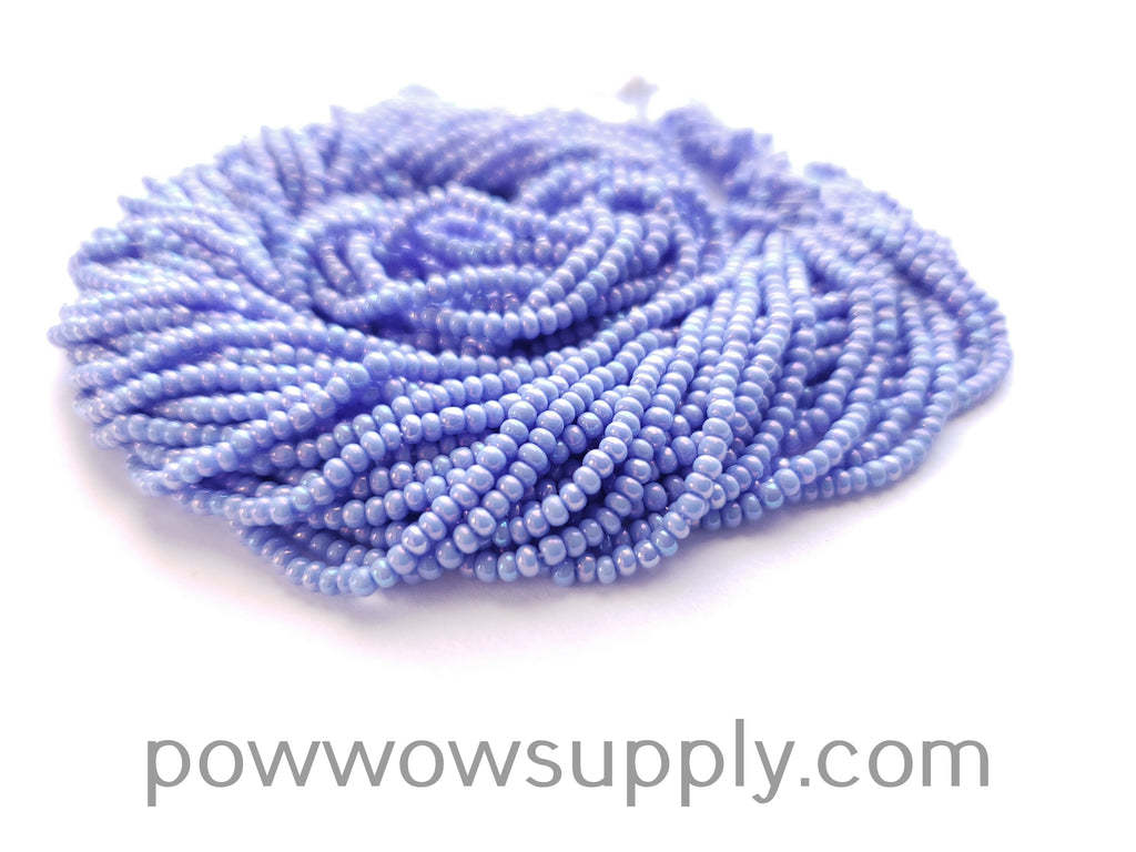 11/0 Seed Bead Opaque AB Dark Periwinkle