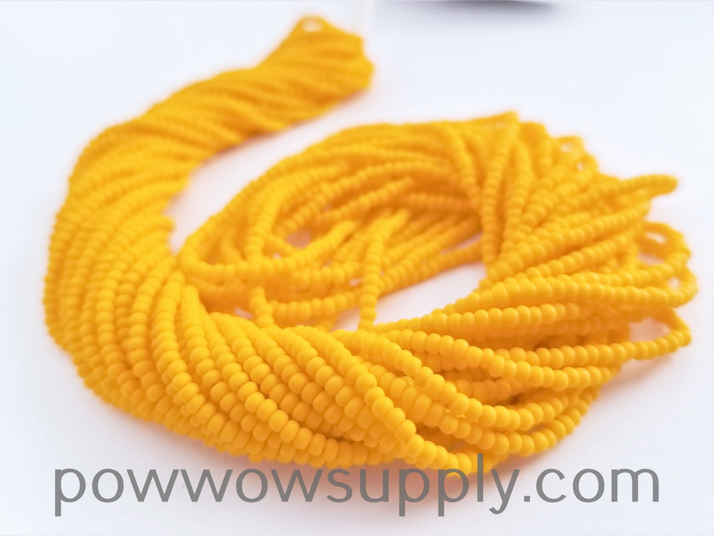 11/0 Seed Bead Opaque Matte Light Orange