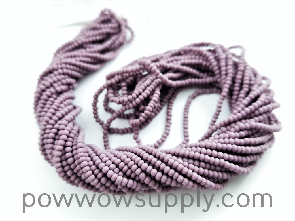 11/0 Seed Bead Opaque Matte Light Amethyst