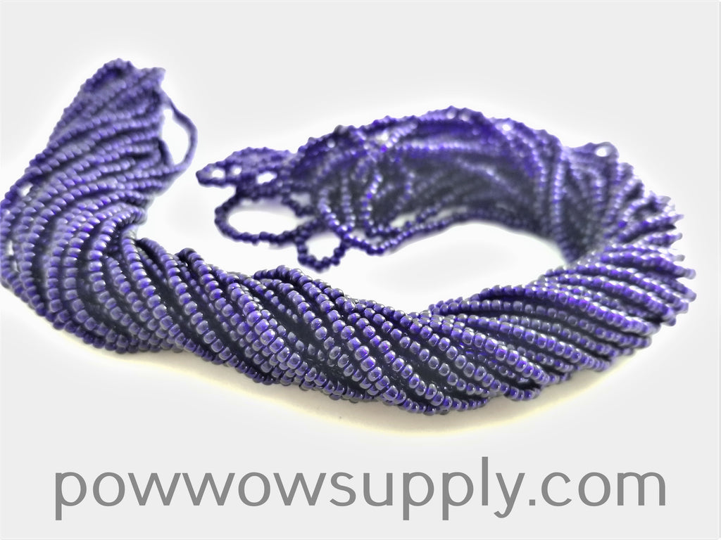 11/0 Seed Bead Transparent Deep Cobalt