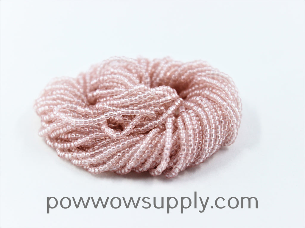 11/0 Seed Beads Transparent Luster Rose