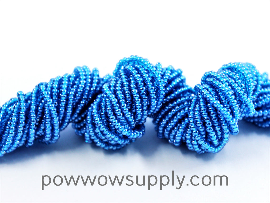 11/0 Seed Beads Transparent Luster Dark Aqua