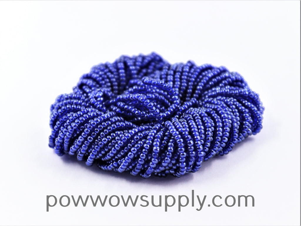 11/0 Seed Beads Transparent Luster Cobalt