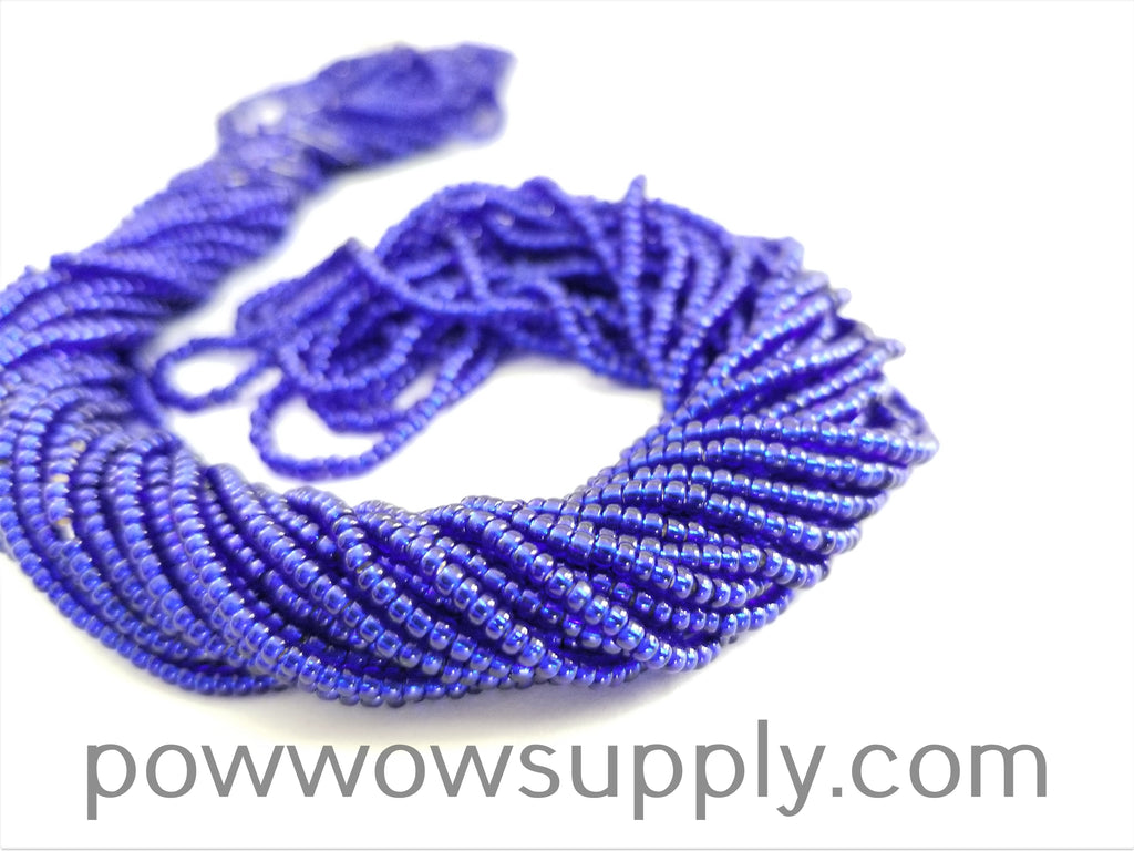 11/0 Seed Bead Silver Lined Cobalt