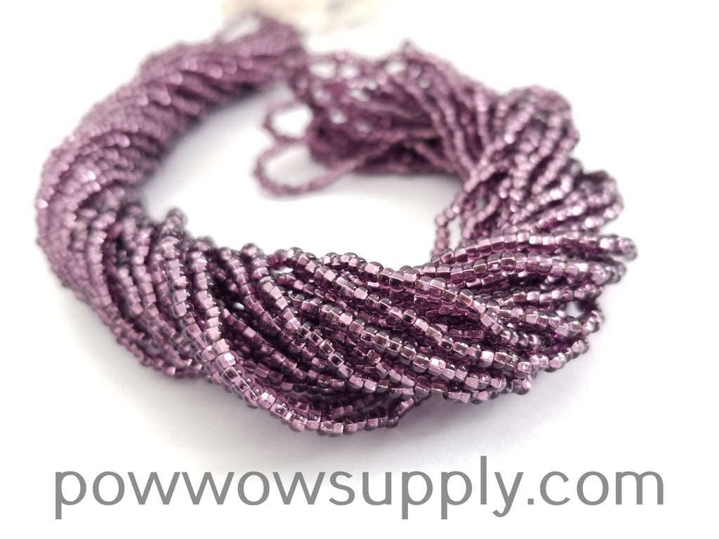 11/0 Seed Bead Silver Lined Amethyst