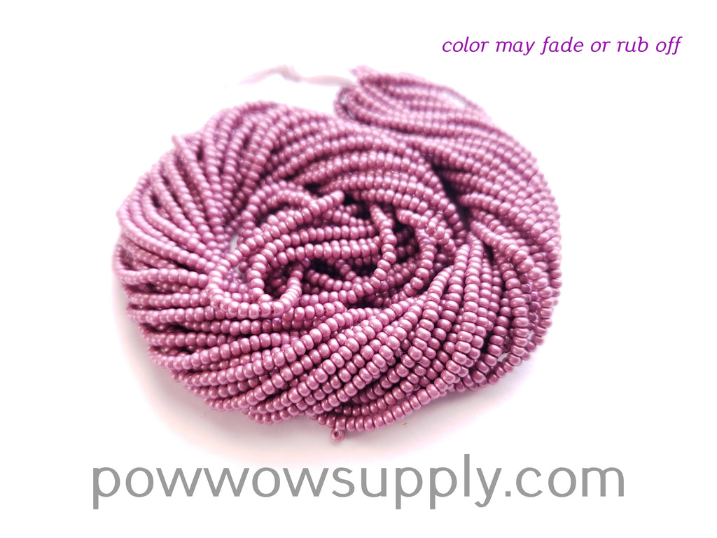 11/0 Seed Beads Pearl Matte Berry
