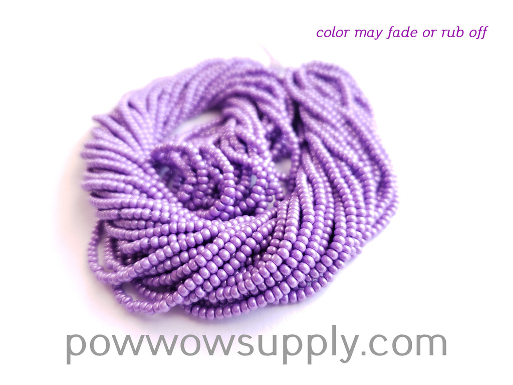11/0 Seed Beads Pearl Matte Lilac
