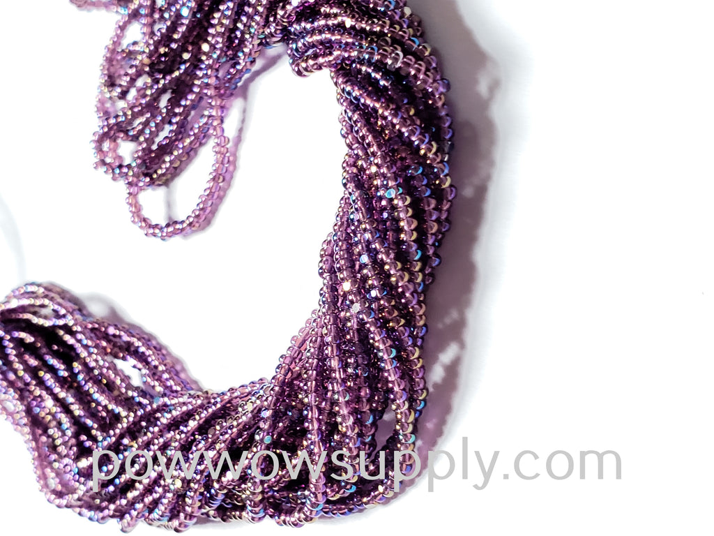 13/0 Charlottes Transparent AB Amethyst (Beader's Paradise Stock)