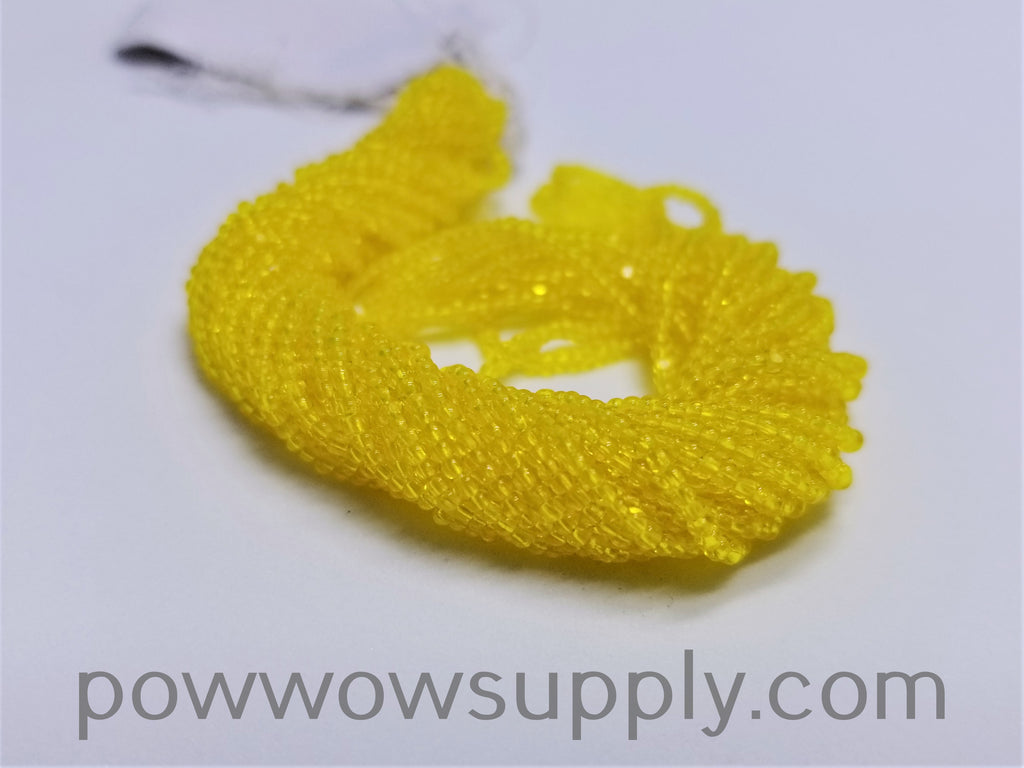 13/0 Charlotte Cut Transparent Yellow
