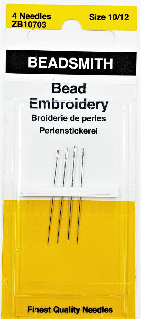 Bead Embroidery Needles 10-12