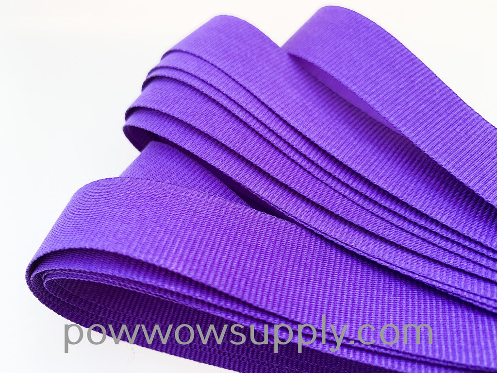 "3-4"" Grosgrain Purple (5 yards)"