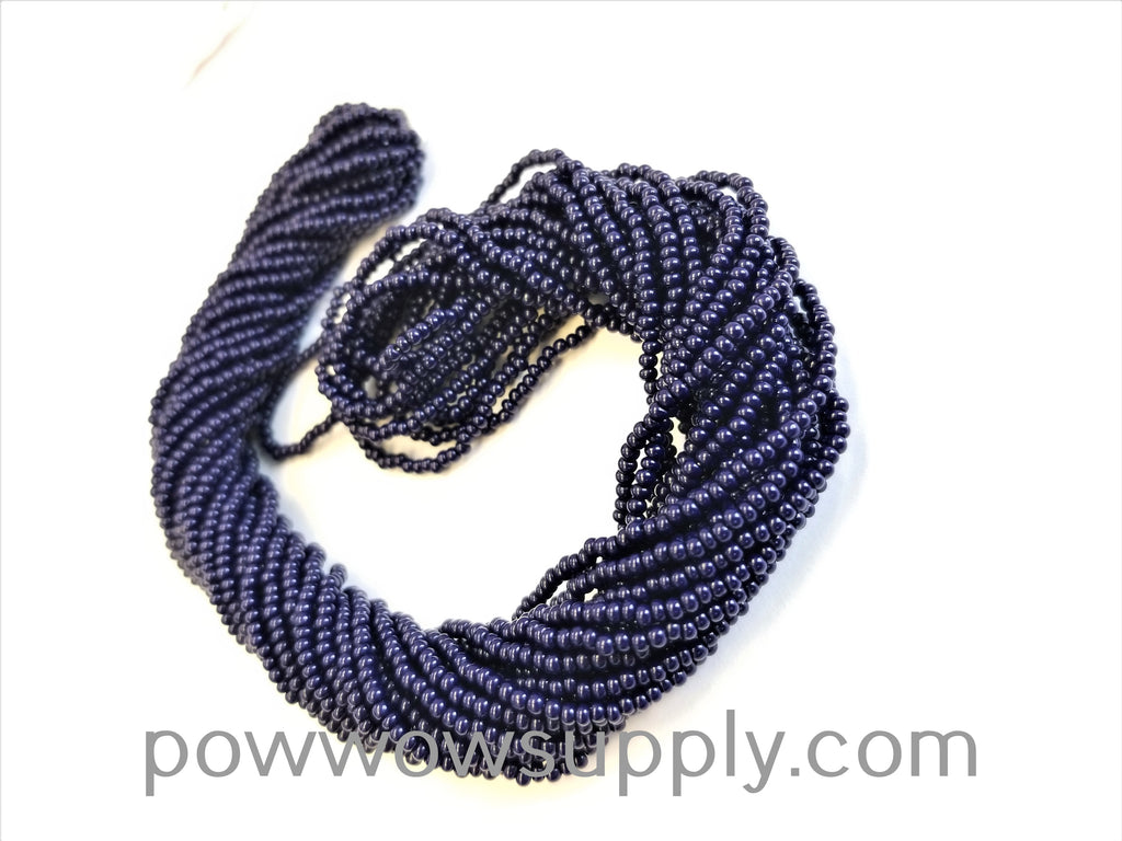 11/0 Seed Bead Opaque Dark Navy
