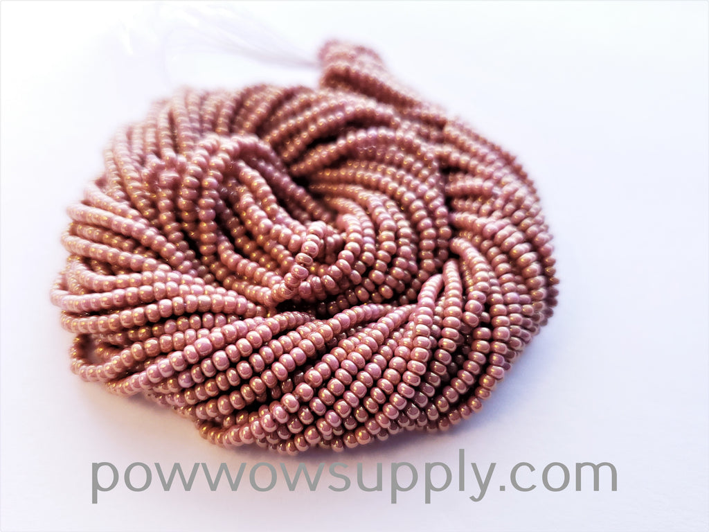 11/0 Seed Beads Opaque Rusty Copper