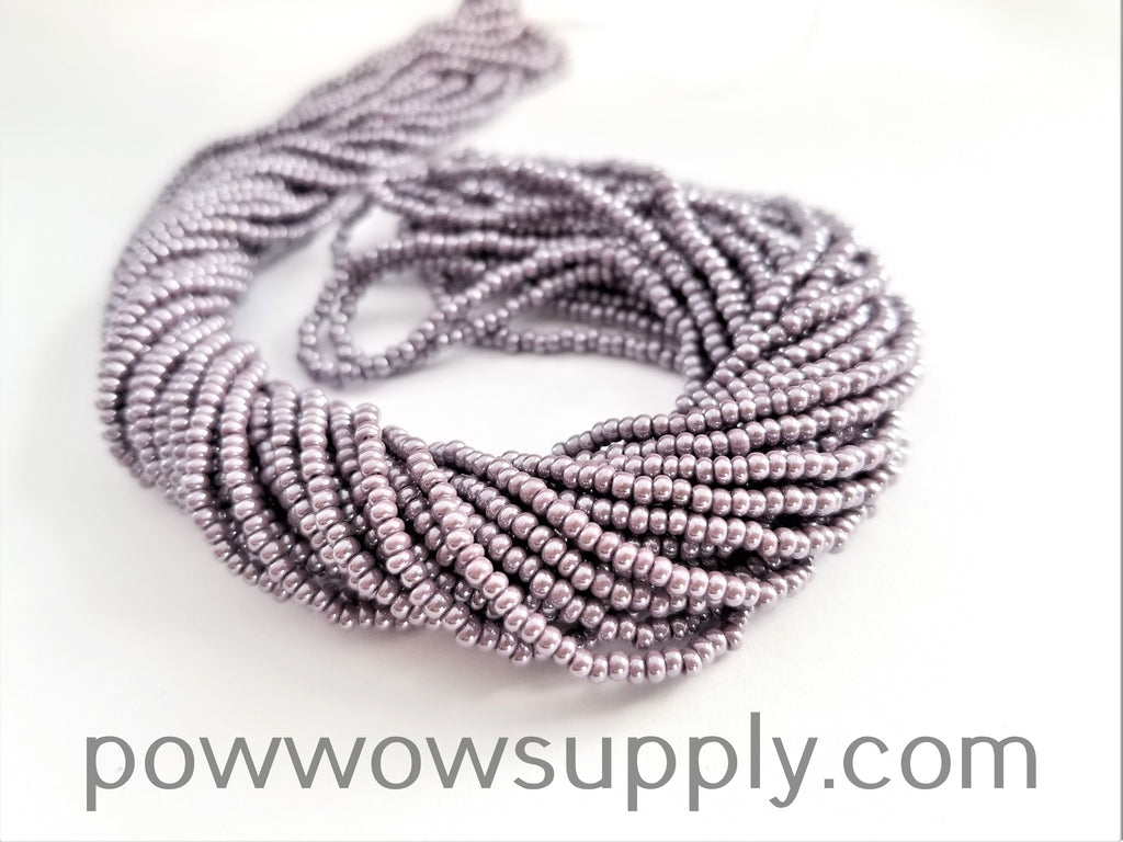11/0 Seed Beads Opaque Luster Amethyst