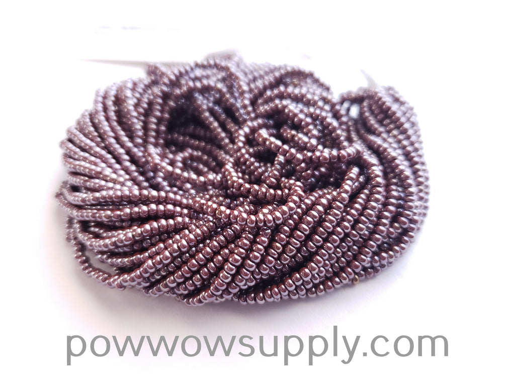 11/0 Seed Beads Opaque Luster Light Brown
