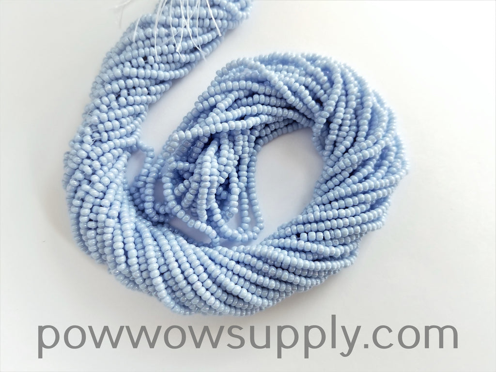 11/0 Seed Bead Opaque AB Periwinkle