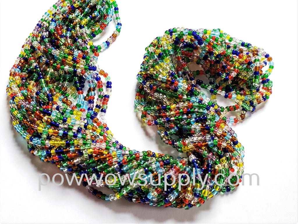 11/0 Seed Beads Transparent Mix
