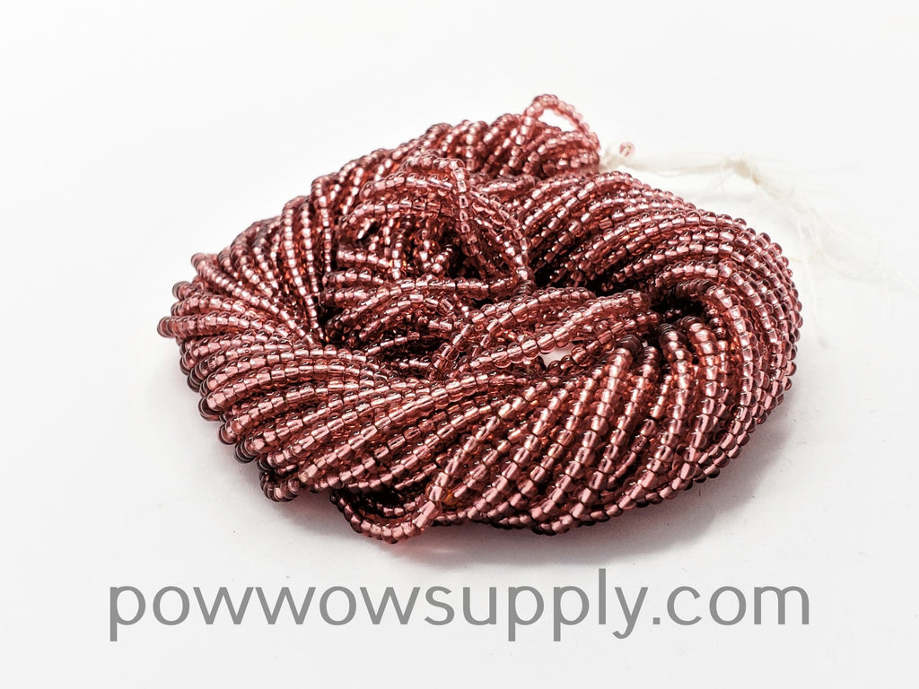 11/0 Seed Beads Silver Lined Deep Rose