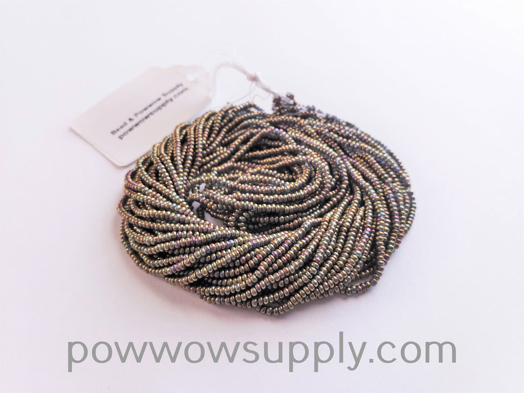 11/0 Seed Beads Metallic Iris Gold