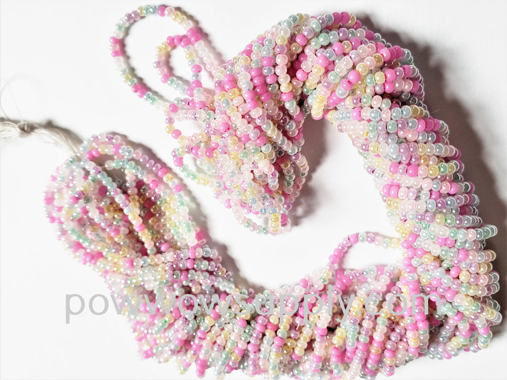 11/0 Seed Beads Pearl Mix