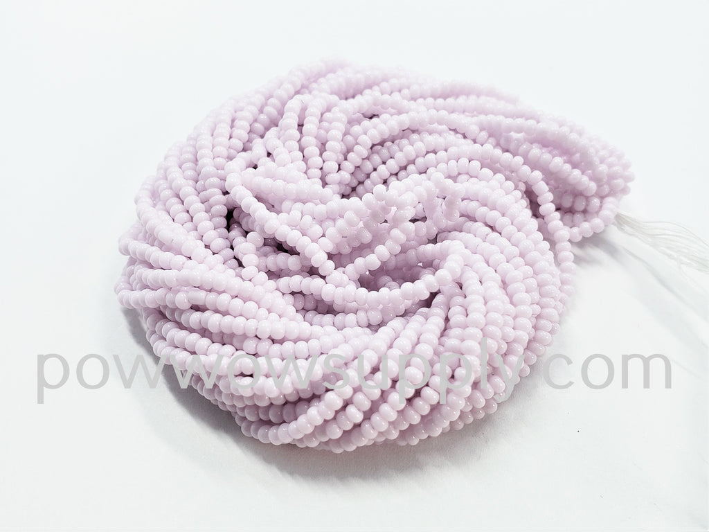 11/0 Seed Beads Opaque Pastel Pink