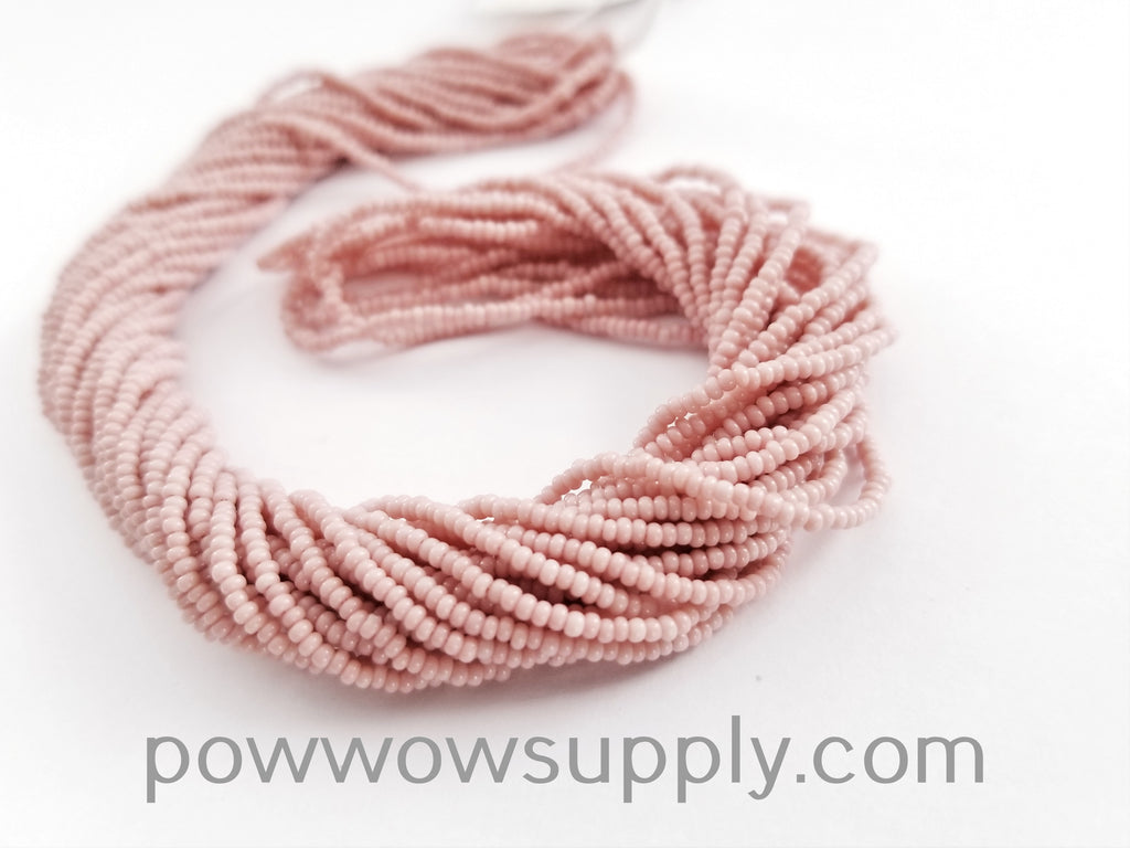 13/0 Seed Beads Opaque Cheyenne Pink