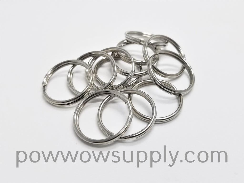 24mm Steel Split Ring (12 pieces)