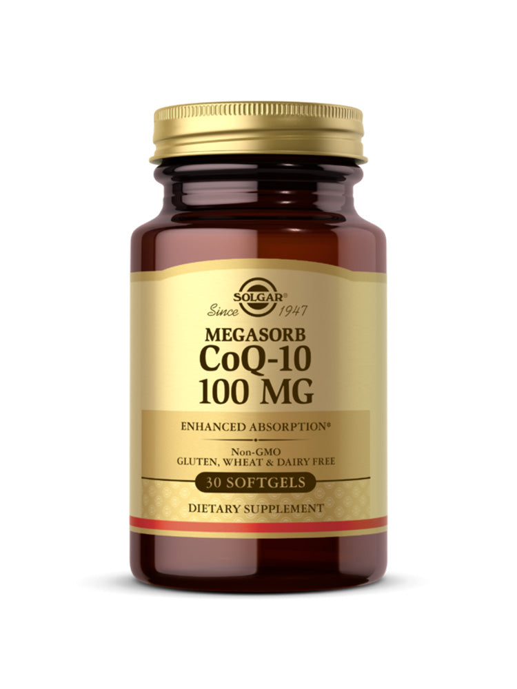 솔가 코큐텐 Solgar Megasorb CoQ-10 100 mg Softgel 30개입