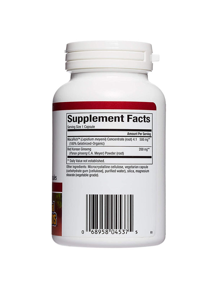 내추럴팩터스 마카 Natural Factors MacaRich Super Strength Power Maca 500 mg Organic 90개입