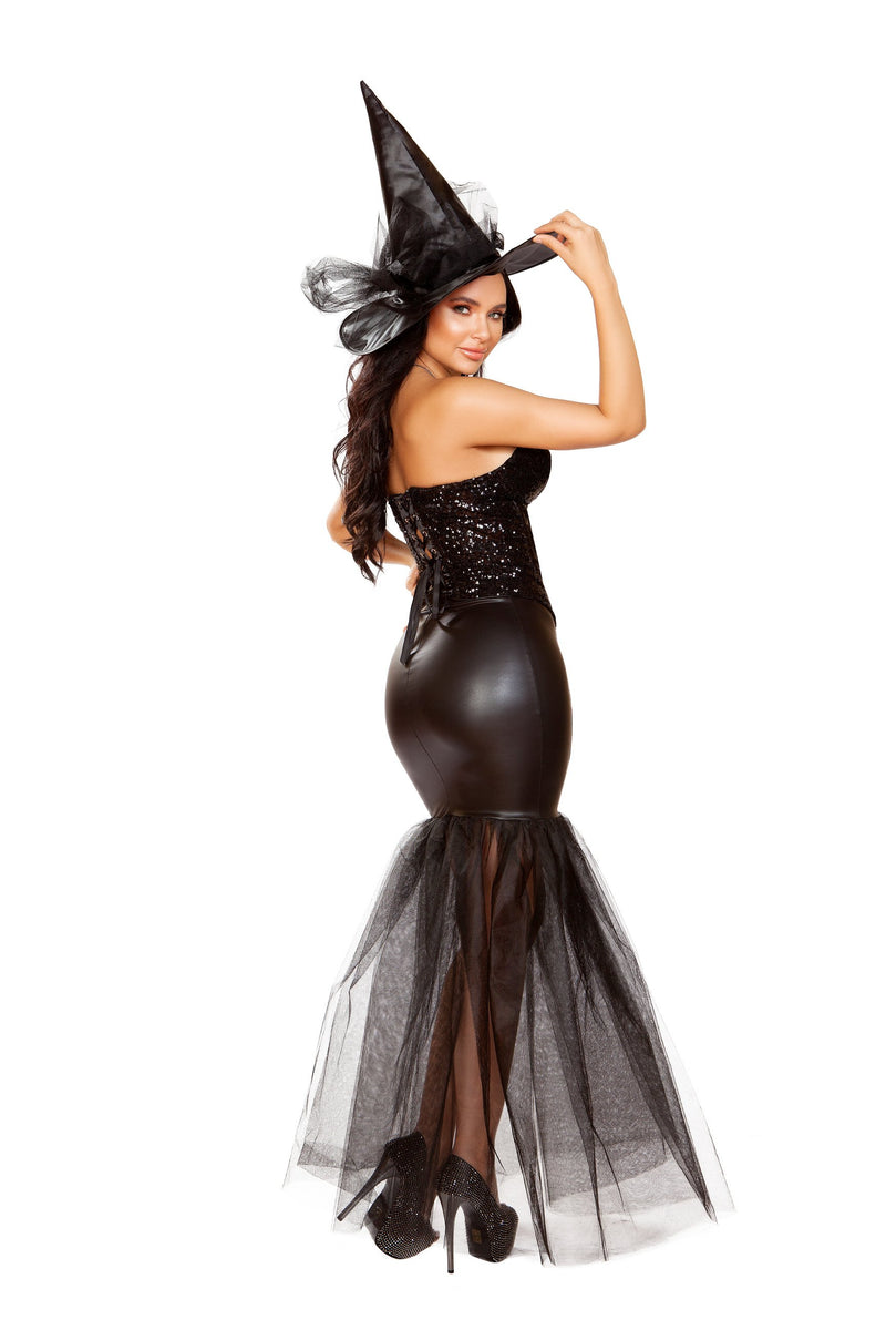 4910 - 3pc Witch with An Evil Spell - Pink Esmeralda