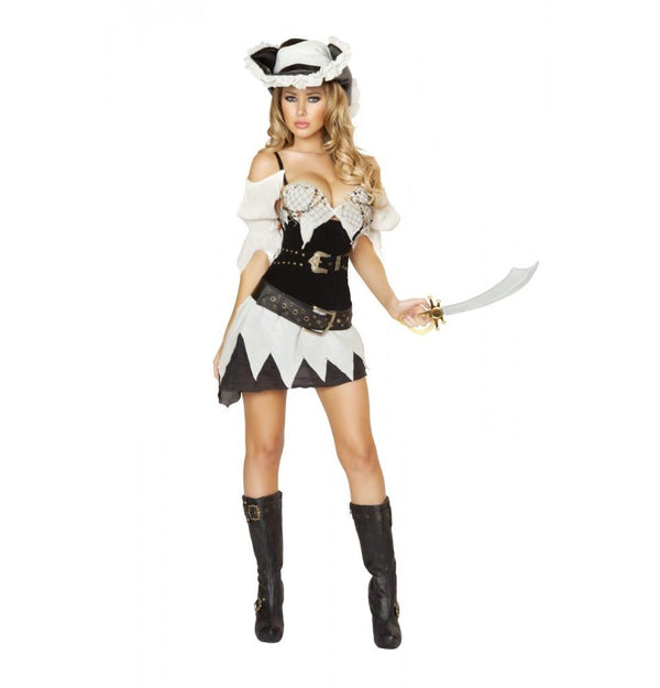 4528 5pc Sexy Shipwrecked Sailor Costume - Roma Costume Costumes,New Products,2014 Costumes - 1