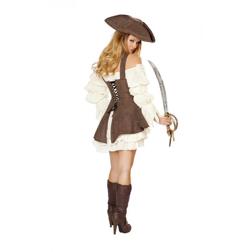 4529 4pc Naughty Ship Wench Costume - Roma Costume New Products,Costumes,2014 Costumes - 2