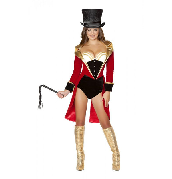 4517 5pc Naughty Ringleader Costume - Roma Costume New Products,Costumes,2014 Costumes - 1