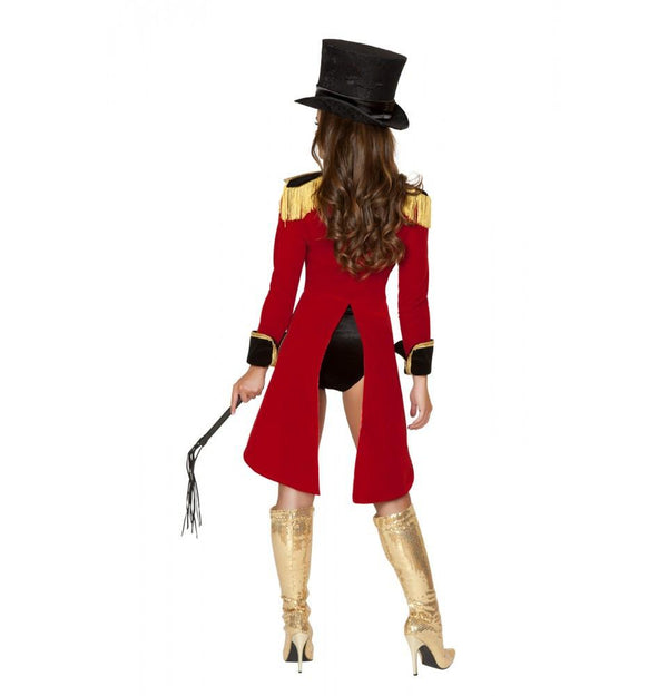 4517 5pc Naughty Ringleader Costume - Roma Costume New Products,Costumes,2014 Costumes - 2
