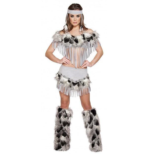 4582 3pc Lusty Indian Maiden - Roma Costume New Arrivals,New Products,Costumes - 2
