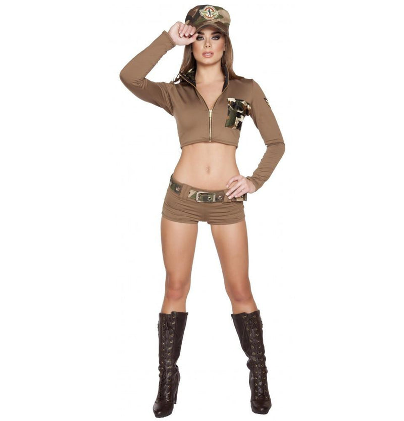 4591 4pc Sexy Soldier Babe - Roma Costume New Arrivals,New Products,Costumes - 1
