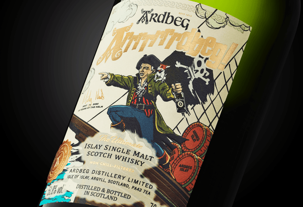 Arrrrrrrdbeg new islay single malt whisky from ardbeg