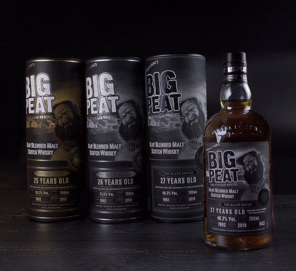 Big Peat Black Edition scotch whisky