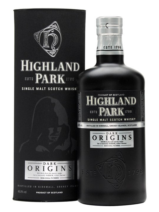 Highland Park Dark Origins single malt scotch whisky review