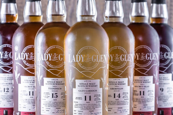 Lady of The Glen single malt scotch whisky independent bottler review