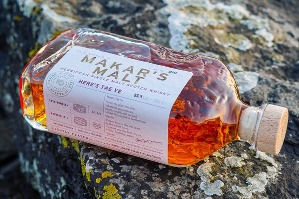 The Makar's Malt is a single cask single malt Scotch whisky marking the end of celebrated Scottish poet Jackie Kay's tenure as The Scots Makar of Scotland.
