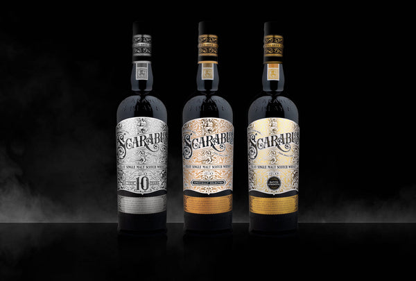 Scarabus 10 Year Old and Scarabus Batch Strength Islay Single Malt Scotch Whisky