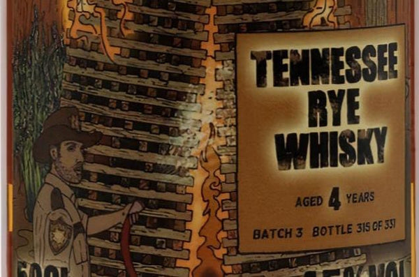Review of That Boutique-y Whisky Company's 4 year old Tennessee Rye Whisky (Batch 3)