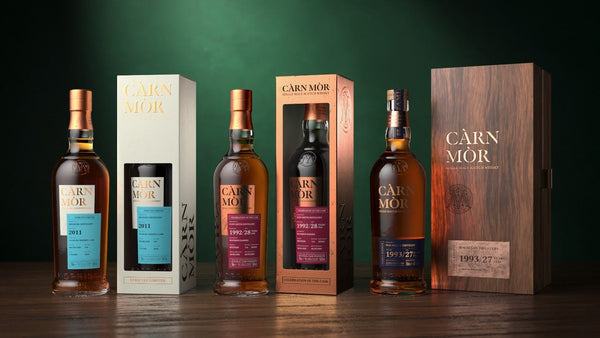 The Càrn Mòr  range including Strictly Limited, Celebration of the Cask and Family Reserve